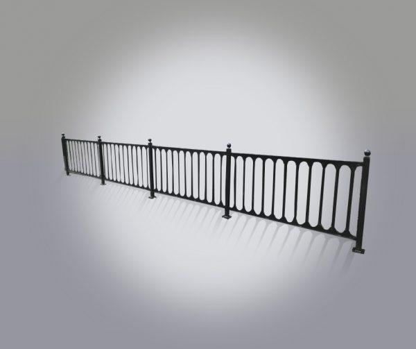 Staket Skogsliden grindar/staket